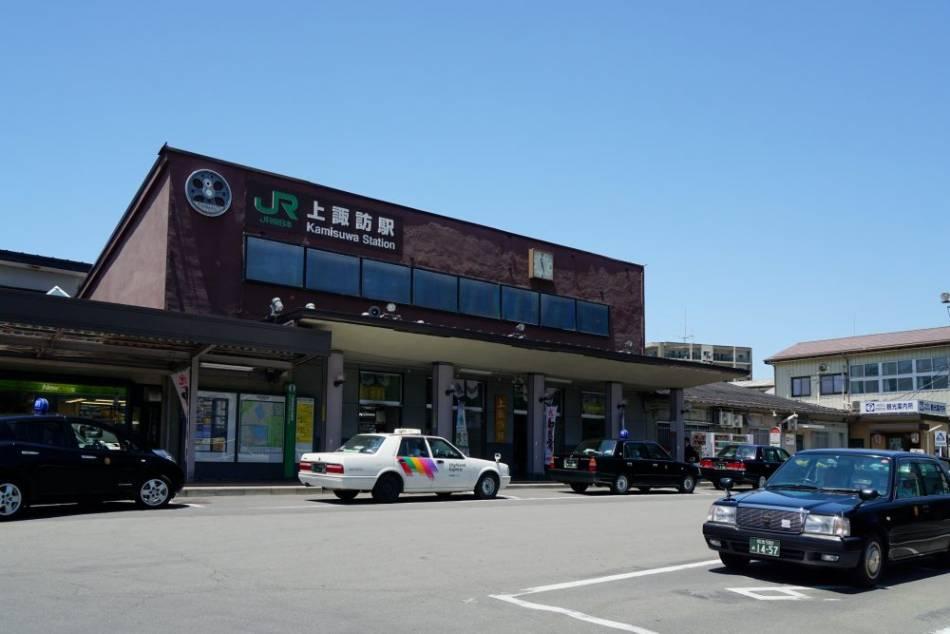 諏訪駅写真
