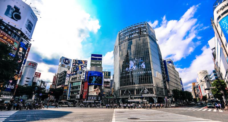 渋谷駅写真